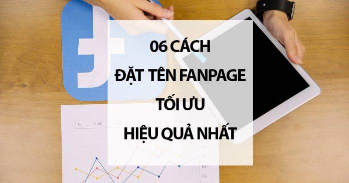 06 Cách Đặt Tên Fanpage Tối Ưu Hiệu Quả Nhất
