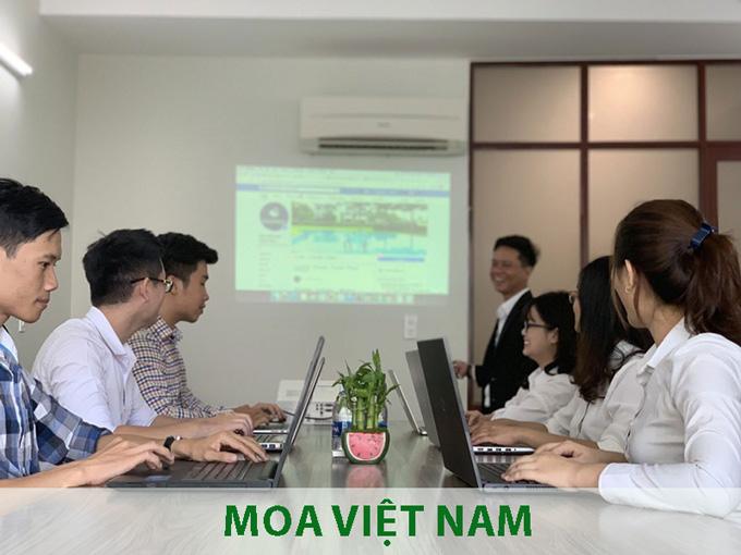 Trung Tâm Đào Tạo Thiết Kế Website MOA Việt Nam