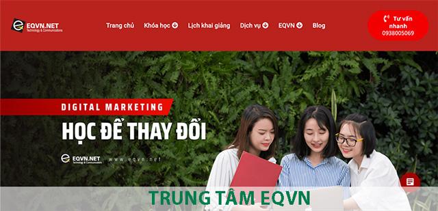 Trung Tâm Đào Tạo Digital Marketing EQVN