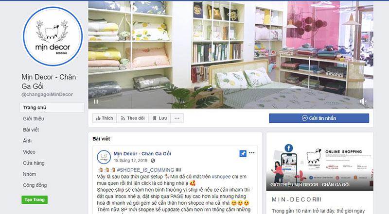 Min Decor địa chỉ mua chăn ga gối đệm chất lượng khu vực Hà Nội