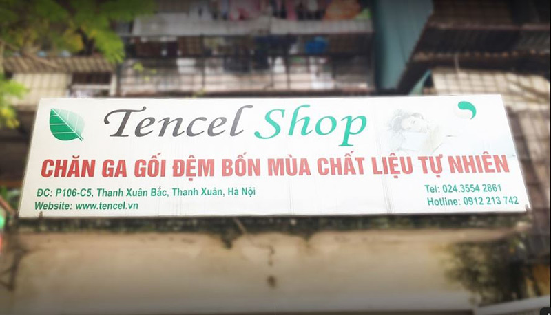 Tencel shop cung cấp chăn ga gối đệm ở Hà Nội