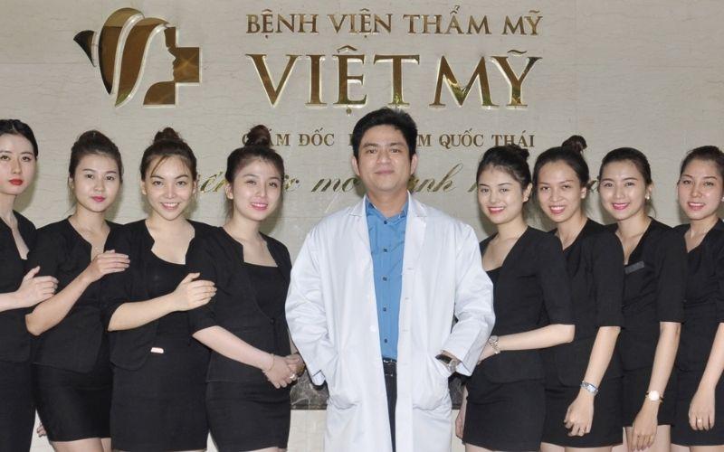 Bệnh viện thẩm mỹ Việt Mỹ được đông đảo chị em tin yêu