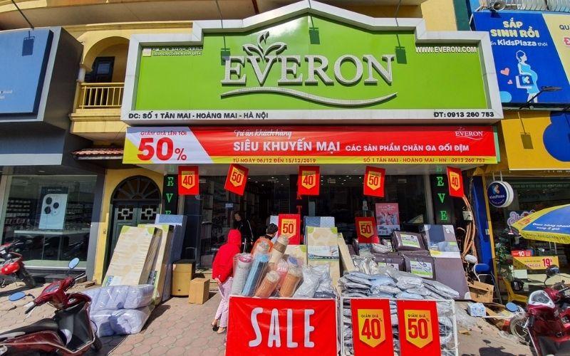 Everon là thương hiệu quen thuộc nhiều năm tại thị trường Việt Nam