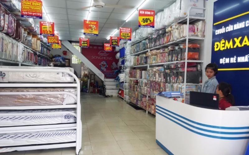 Đệm Xanh sở hữu nhiều cửa hàng chăn ga gối nệm Hàn Quốc cao cấp
