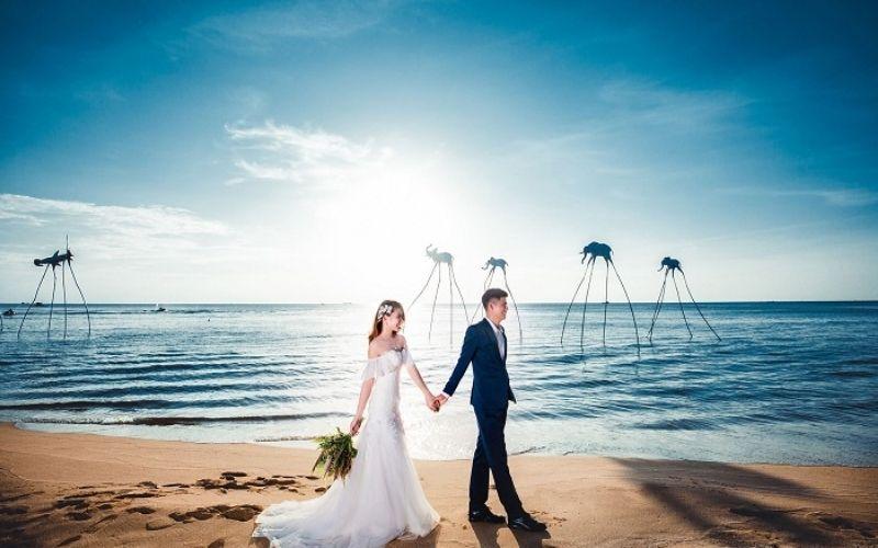 Ngất ngây với hình cưới được chụp tại đảo ngọc Phú Quốc