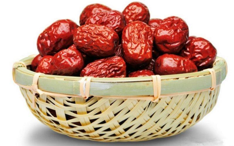 Táo đỏ khô là nguyên dược liệu phổ biến tốt cho sức khỏe
