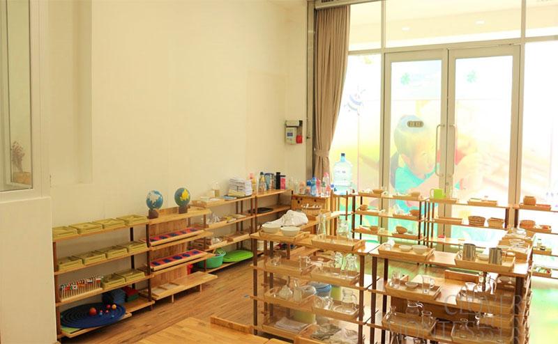 trường mầm non quận 7 Clover Montessori