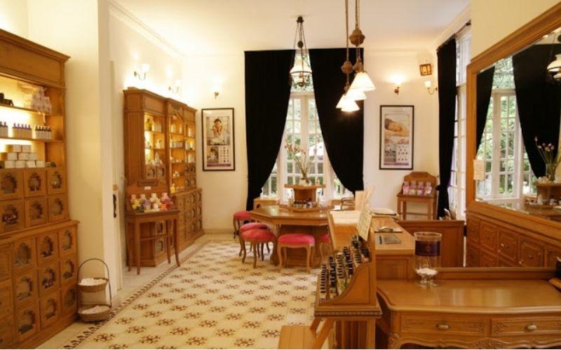 Spa làm đẹp mang phong cách Pháp L'apothiquaire