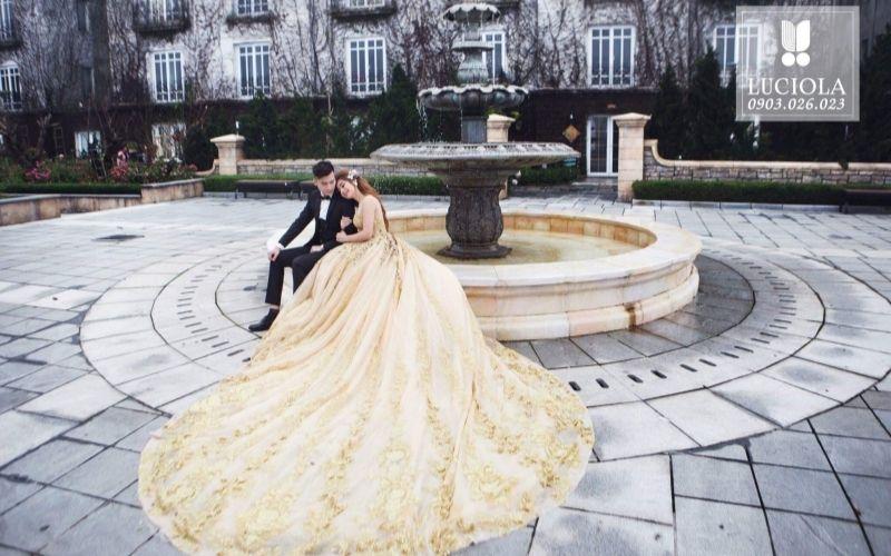 Luciola Studio chụp ảnh cưới đẹp, nổi bật theo phong cách Hàn Quốc lãng mạn