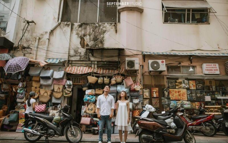 September Studio - một studio chụp ảnh cưới đẹp và độc đáo tại Sài Gòn.