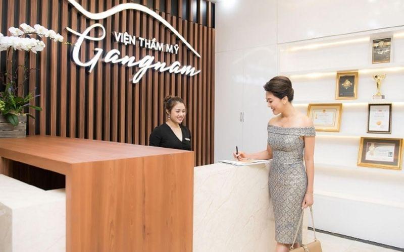Thẩm mỹ viện Gang Nam - cái tên nổi tiếng trong lĩnh vực làm đẹp tại TPHCM
