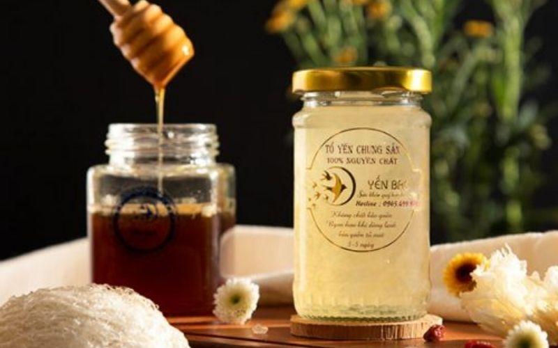 Yến chưng mật ong Yến Bạc 100ml