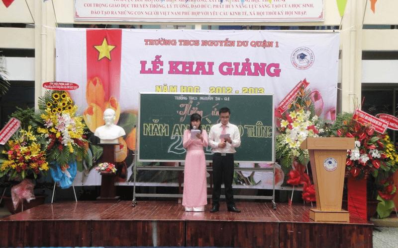 Trường Trung học cơ sở Nguyễn Du