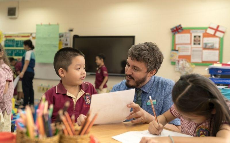 Đến với BVIS, trẻ vừa được học tiếng Anh, vừa được hoàn thiện toàn diện các kĩ năng