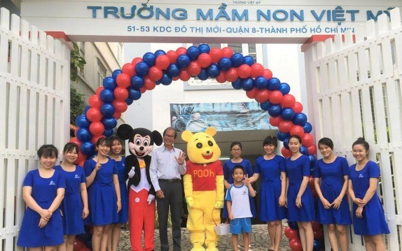 Việt Mỹ là ngôi trường mầm non giảng dạy theo phương pháp quốc tế