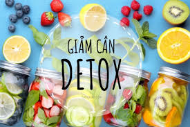 loại detox giảm cân