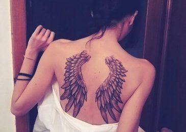 Xăm hình đôi cánh ở sau lưng