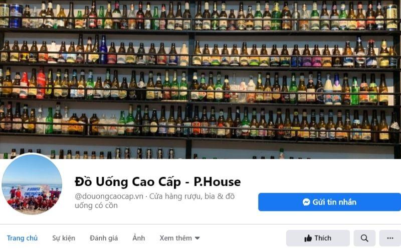 P.House là đơn phị phân phối sỉ lẻ các dòng bia, rượu nhập khẩu chính hãng