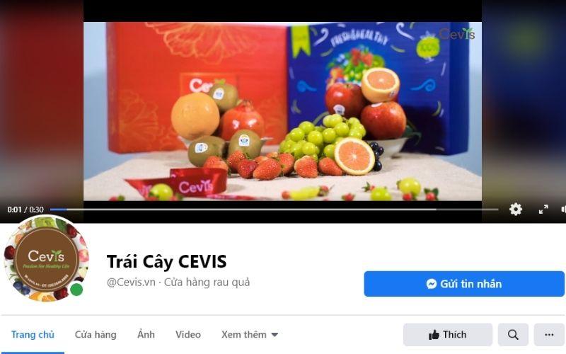 Cửa hàng trái cây Cevis