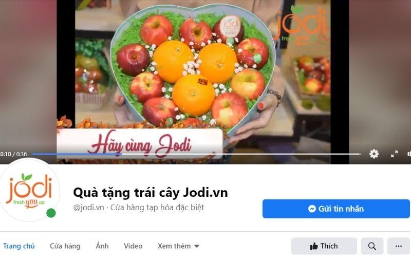 Cửa hàng quà tặng trái cây Jodi