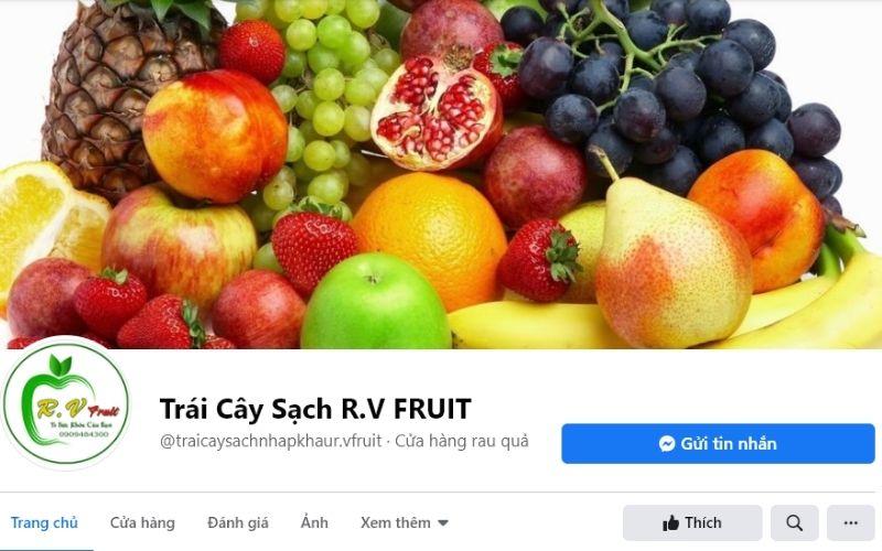Cửa hàng trái cây sạch R.V Fruit