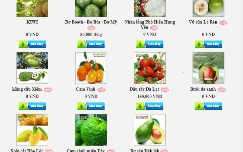 Vựa trái cây tươi Tường Vy