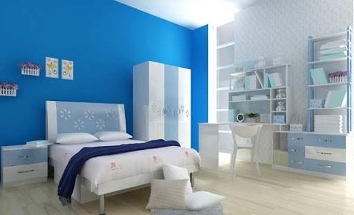Màu sơn phòng ngủ mệnh Mộc