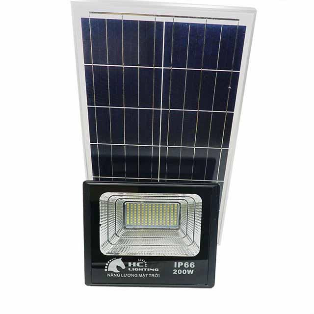Đèn LED năng lượng mặt trời pin rời 200w