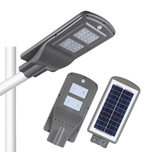 Đèn chiếu sáng đường phố năng lượng mặt trời 40w