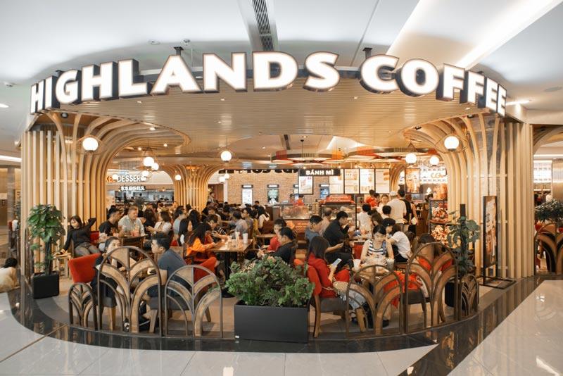Nhượng quyền Cafe Highlands có giá bao nhiêu?