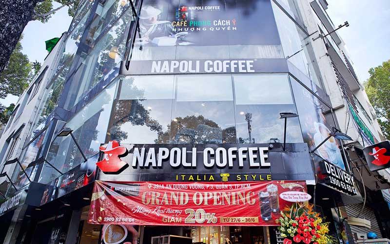 Các mô hình nhượng quyền cafe Napoli