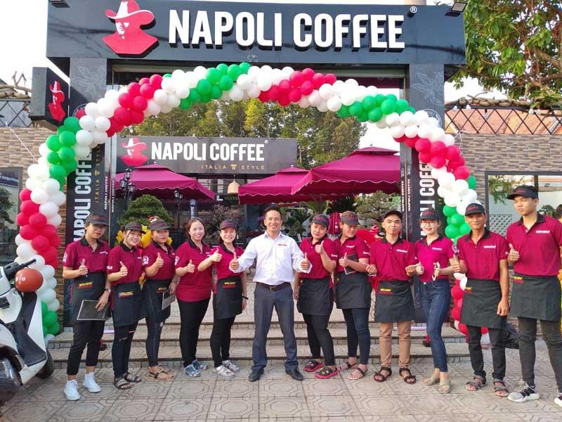 Quá trình hình thành, phát triển của cafe Napoli
