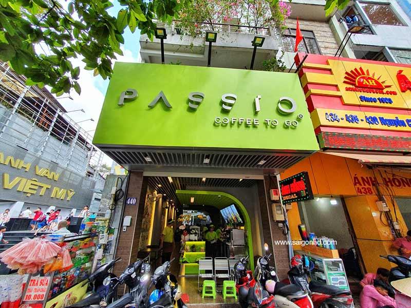 Sự hình thành và phát triển thương hiệu Cafe Passio