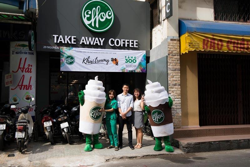 Có nên lựa chọn nhượng quyền Cafe Take Away