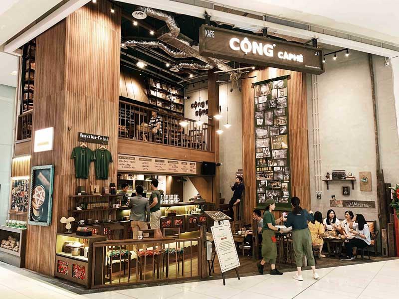 Có nên mua nhượng quyền Cafe Cộng?