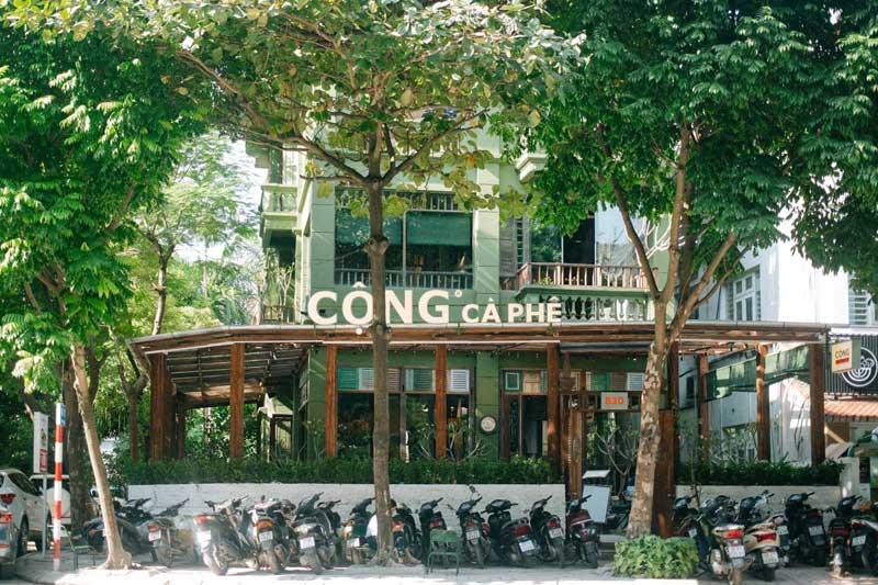 Sự ra đời và phát triển của Cafe Cộng