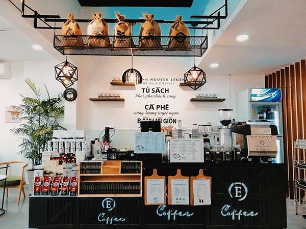 E coffee Trung Nguyên