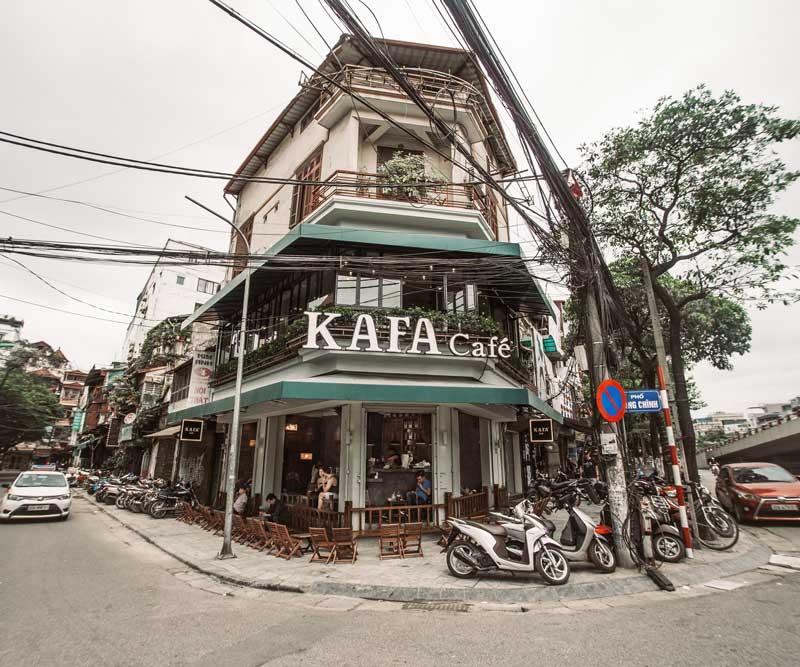 Nhượng quyền Kafa Cafe có những sản phẩm nào?