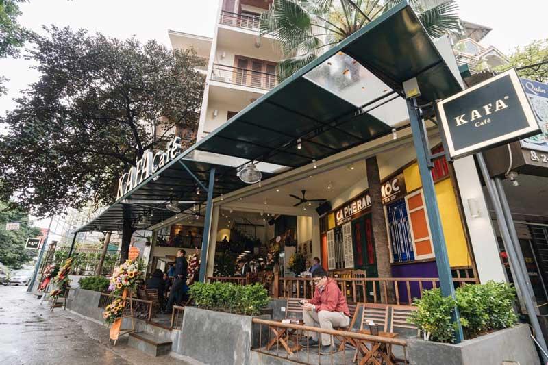 Với hơn 30 cửa hàng ở đa số các tỉnh tại miền Bắc Việt Nam, Kafa Cafe là một chuỗi thương hiệu có độ nhận diện khá cao