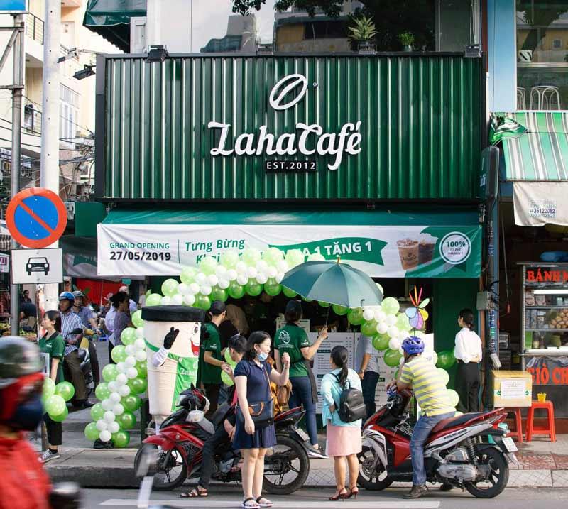Một trong những thương hiệu cà phê nổi tiếng tại Sài Gòn với hơn 5 năm hoạt động