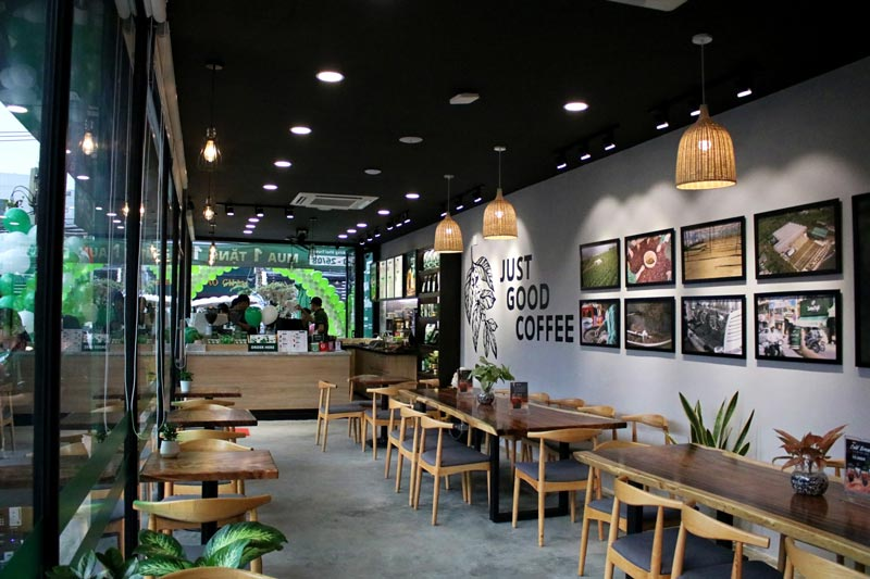 Nhượng quyền cafe Laha Store