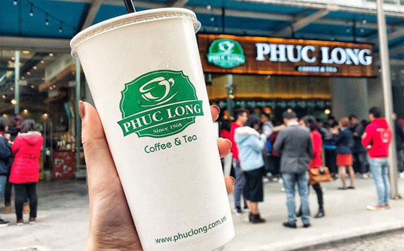 Những sản phẩm mang thương hiệu cafe Phúc Long