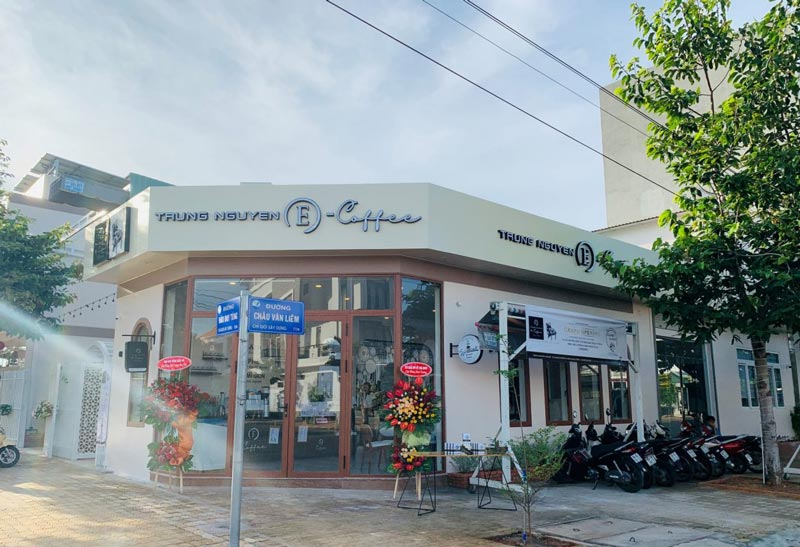 thương hiệu nhượng quyền Cafe Trung Nguyên E-Coffee.