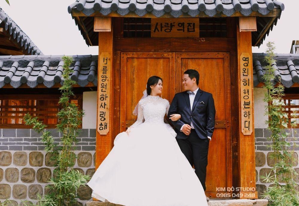 Chụp ảnh cưới quận 12 - kim đô