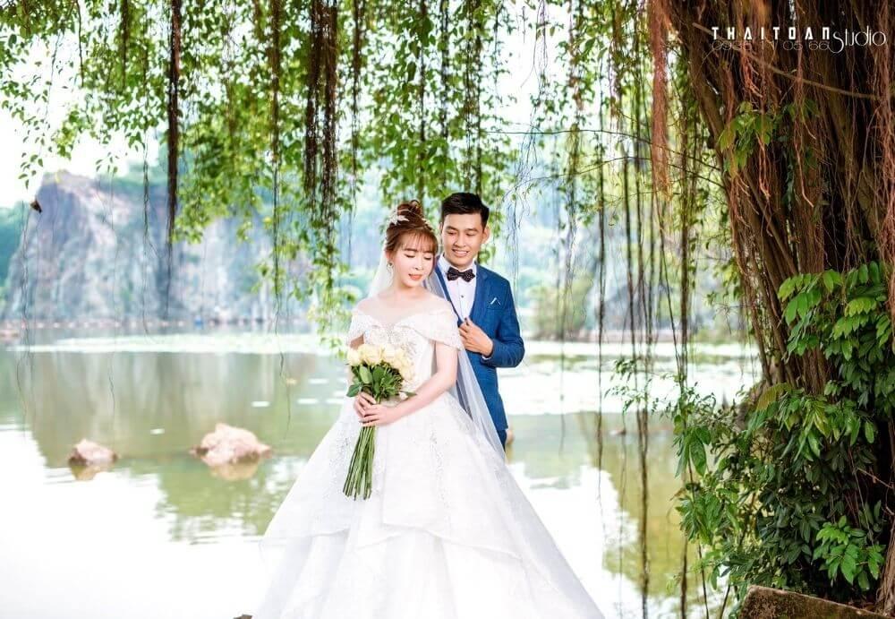 Chụp ảnh cưới quận 12 - thái toàn