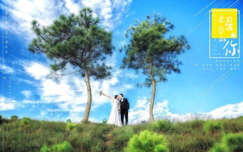 Chụp ảnh cưới quận 4- onelike