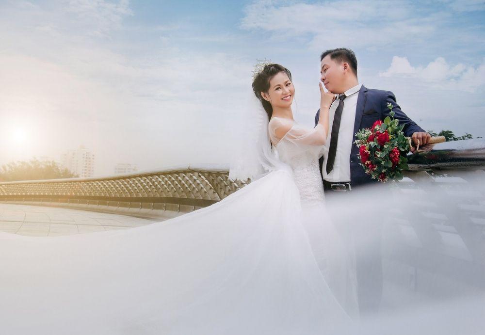 Chụp ảnh cưới quận 8 - hunha