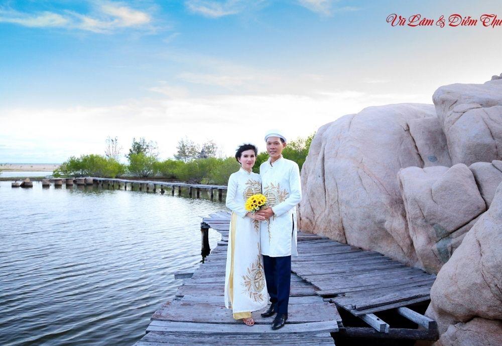 Chụp ảnh cưới quận bình thạnh - hải triều