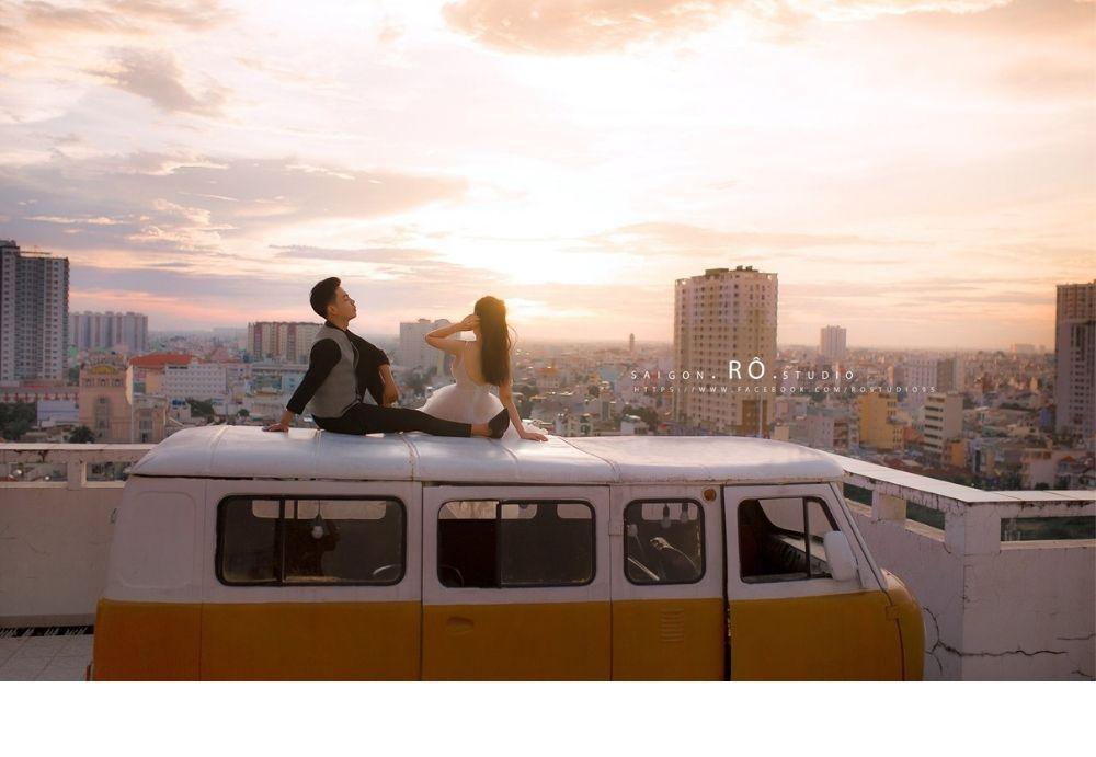 Chụp ảnh cưới quận gò vấp - rô