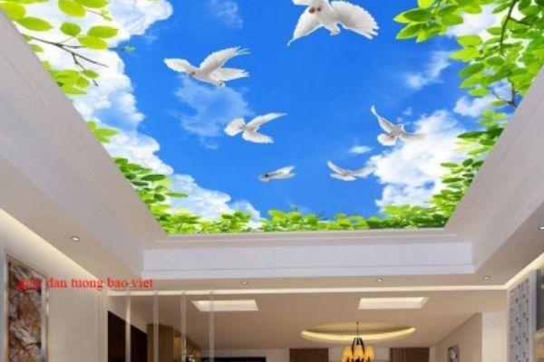 Bảo Việt, giấy dán tường